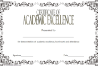 17+ Academic Certificate Templates Free [2020 Ideas] Pertaining To Academic Achievement Certificate Templates