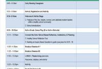 34+ Agenda Templates In Word   Free & Premium Templates With Fascinating Word Agenda Template Free Download