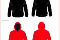 39 Blank Hoodie Templates [+ Hoodie Mockups] ᐅ Templatelab In Fascinating Blank Black Hoodie Template