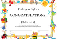 50 Free Creative Blank Certificate Templates In Psd For Inside Free Kids Certificate Templates