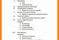 Family Meeting Agenda | Template Business Regarding Family Meeting Agenda Template