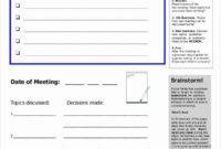 Family Meeting Agenda Templates Luxury Free 57 Meeting Throughout Family Meeting Agenda Template