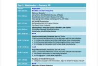 Free 7+ Sample Board Meeting Agenda Templates In Pdf | Ms Word Throughout Committee Meeting Agenda Template