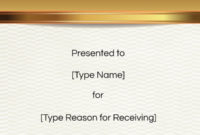 Free Congratulations Certificate Template   Customize Online In New Congratulations Certificate Templates