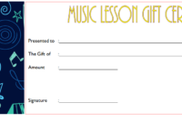 Music Certificate Template For Word Free (12+ Fresh Ideas) Pertaining To Simple Piano Certificate Template Free Printable