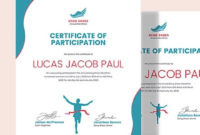 Running Certificate Template 7+ Word, Pdf, Ai, Indesign In Awesome 5K Race Certificate Templates